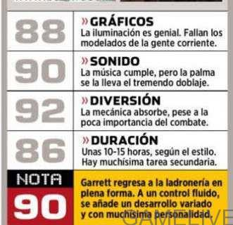 thief-review-score-spanish-magazine(Gamelive.ir)